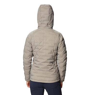 Manteau à capuchon Super/DS™ Stretchdown Femme Super/DS™ Stretchdown Hooded Jacket | 599 | L, Dunes, back