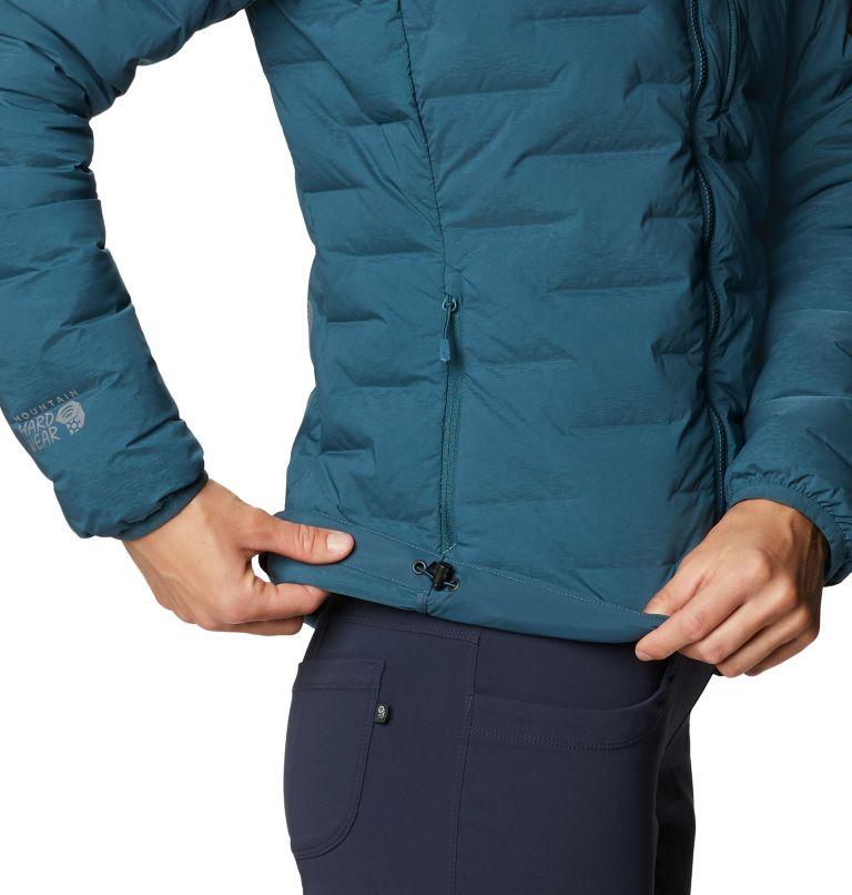 Super/DS™ Stretchdown Hooded Jacket | 324 | M Women's Super/DS™ Stretchdown Hooded Jacket, Icelandic, a3