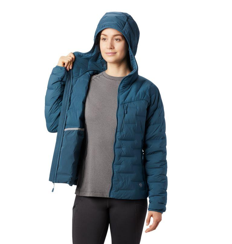 Super/DS™ Stretchdown Hooded Jacket | 324 | M Women's Super/DS™ Stretchdown Hooded Jacket, Icelandic, a4