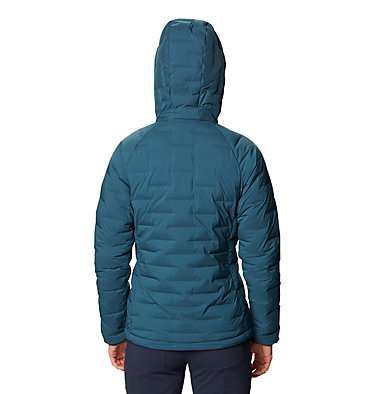 Women's Super/DS™ Stretchdown Hooded Jacket Super/DS™ Stretchdown Hooded Jacket | 599 | L, Icelandic, back