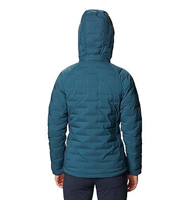 Manteau à capuchon Super/DS™ Stretchdown Femme Super/DS™ Stretchdown Hooded Jacket | 599 | L, Icelandic, back