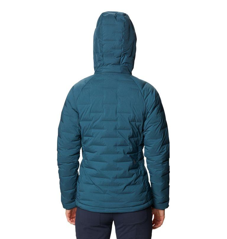 Super/DS™ Stretchdown Hooded Jacket | 324 | M Women's Super/DS™ Stretchdown Hooded Jacket, Icelandic, back