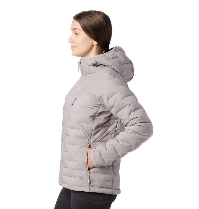 Super/DS™ Stretchdown Hooded Jacket | 514 | M Women's Super/DS™ Stretchdown Hooded Jacket, Mystic Purple, a1