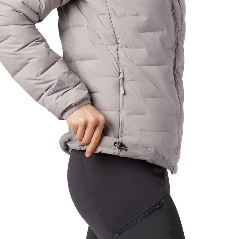Super/DS™ Stretchdown Hooded Jacket | 514 | S Women's Super/DS™ Stretchdown Hooded Jacket, Mystic Purple, a2