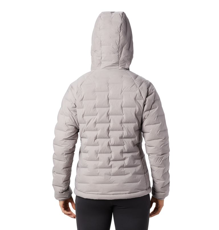 Super/DS™ Stretchdown Hooded Jacket | 514 | M Women's Super/DS™ Stretchdown Hooded Jacket, Mystic Purple, back