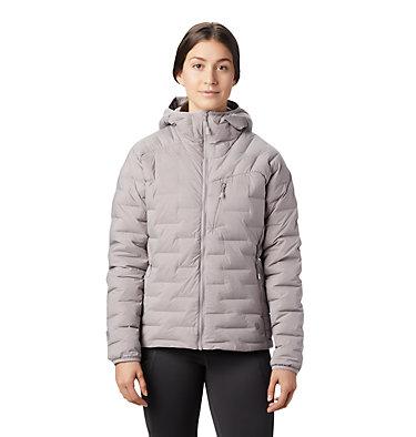 Manteau à capuchon Super/DS™ Stretchdown Femme Super/DS™ Stretchdown Hooded Jacket | 599 | L, Mystic Purple, front