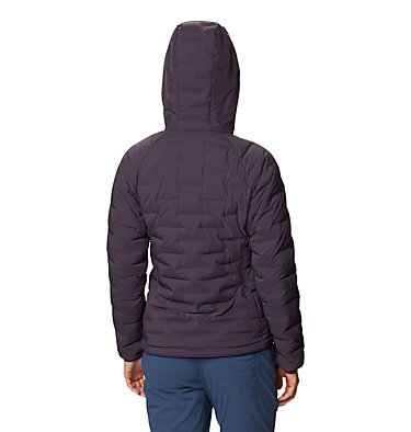 Women's Super/DS™ Stretchdown Hooded Jacket Super/DS™ Stretchdown Hooded Jacket | 599 | L, Blurple, back