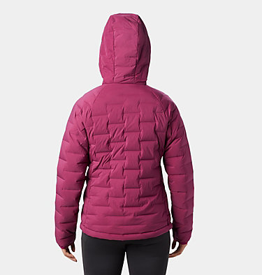 Women's Super/DS™ Stretchdown Hooded Jacket Super/DS™ Stretchdown Hooded Jacket | 599 | L, Divine, back