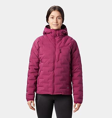 Manteau à capuchon Super/DS™ Stretchdown Femme Super/DS™ Stretchdown Hooded Jacket | 599 | L, Divine, front