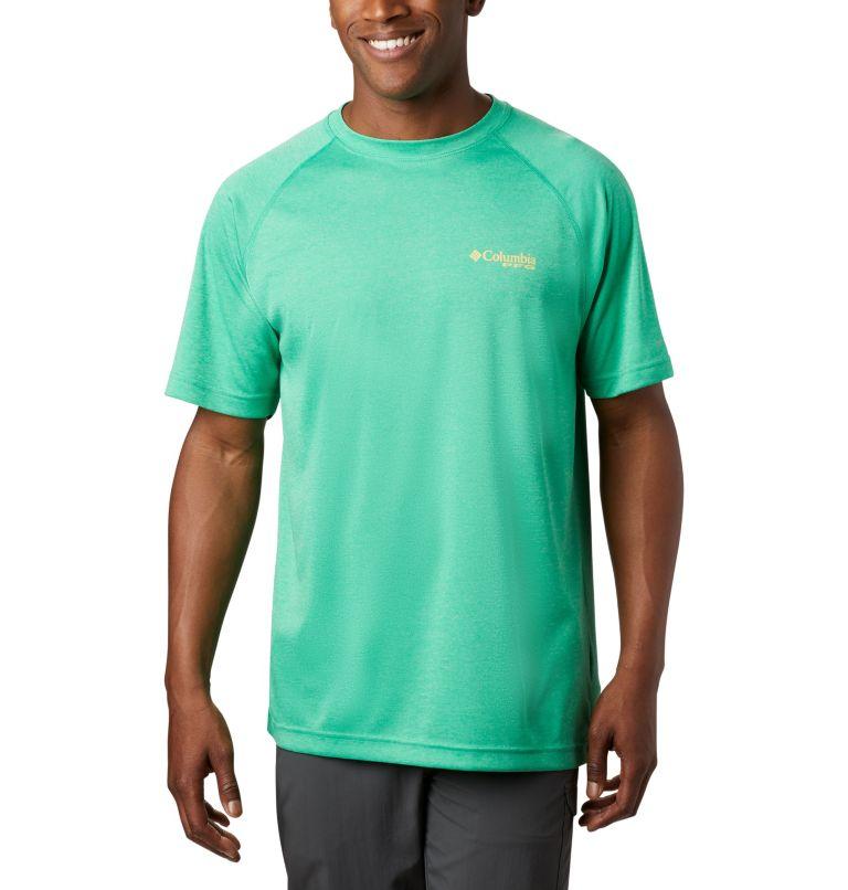 Men's PFG Terminal Tackle™ Heather Short Sleeve Shirt Men's PFG Terminal Tackle™ Heather Short Sleeve Shirt, front
