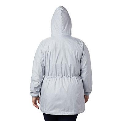 Women's Auroras Wake™ III Mid Jacket - Plus Size Auroras Wake™ III Mid Jacket | 191 | 1X, Cirrus Grey Emboss, back