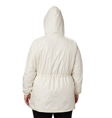 Women's Auroras Wake™ III Mid Jacket - Plus Size Auroras Wake™ III Mid Jacket | 191 | 1X, Chalk Emboss, back