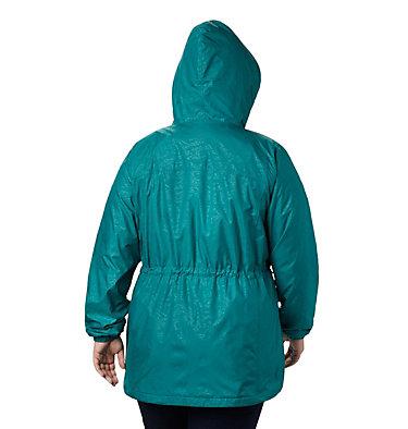 Women's Auroras Wake™ III Mid Jacket - Plus Size Auroras Wake™ III Mid Jacket | 466 | 1X, Waterfall Emboss, back