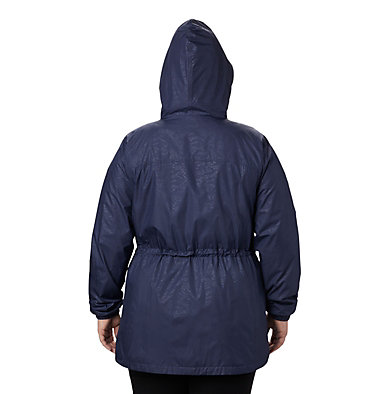 Women's Auroras Wake™ III Mid Jacket - Plus Size Auroras Wake™ III Mid Jacket | 191 | 1X, Nocturnal Emboss, back