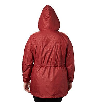 Women's Auroras Wake™ III Mid Jacket - Plus Size Auroras Wake™ III Mid Jacket | 466 | 1X, Dusty Crimson Emboss, back