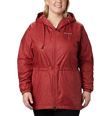 Women's Auroras Wake™ III Mid Jacket - Plus Size Auroras Wake™ III Mid Jacket | 466 | 1X, Dusty Crimson Emboss, front