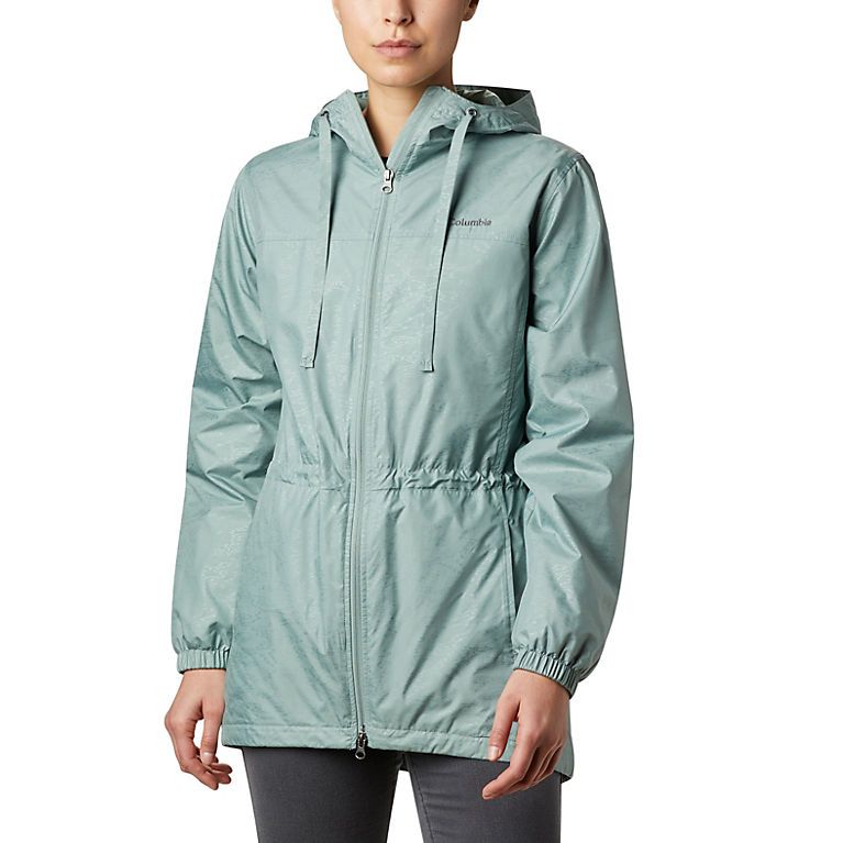 Light Lichen Emboss Women's Auroras Wake™ III Mid Jacket, View 0