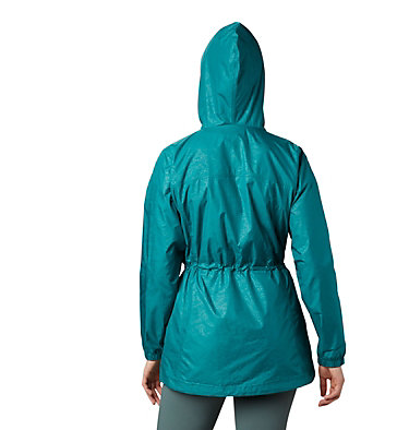 Manteau mi-long Auroras Wake™ III pour femme – Grandes tailles Auroras Wake™ III Mid Jacket | 466 | L, Waterfall Emboss, back