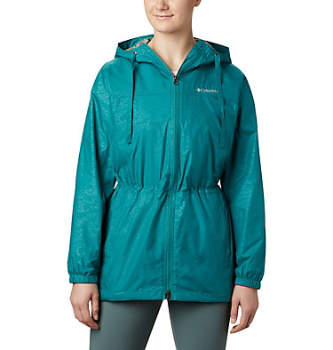 Manteau mi-long Auroras Wake™ III pour femme – Grandes tailles Auroras Wake™ III Mid Jacket | 466 | L, Waterfall Emboss, front