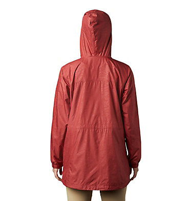 Manteau mi-long Auroras Wake™ III pour femme – Grandes tailles Auroras Wake™ III Mid Jacket | 466 | L, Dusty Crimson Emboss, back