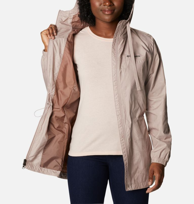 Auroras Wake™ III Mid Jacket   649   XL Women's Auroras Wake™ III Mid Jacket, Mauve Vapor Art Bouquet Emboss, a3