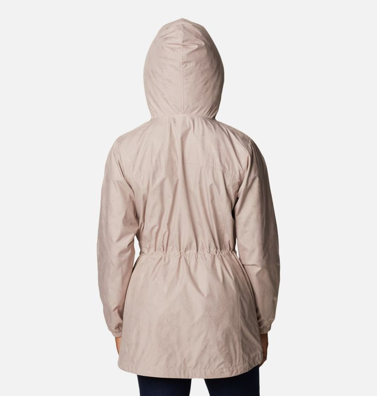 Auroras Wake™ III Mid Jacket   649   XL Women's Auroras Wake™ III Mid Jacket, Mauve Vapor Art Bouquet Emboss, back