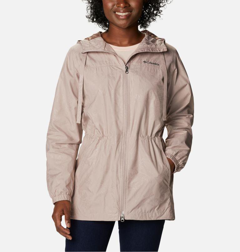 Auroras Wake™ III Mid Jacket   649   XL Women's Auroras Wake™ III Mid Jacket, Mauve Vapor Art Bouquet Emboss, front