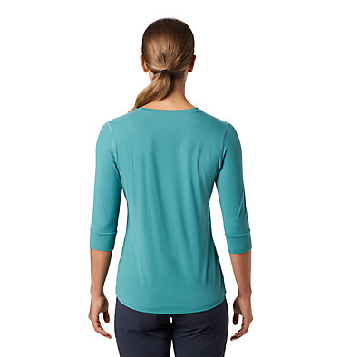 Women's Crater Lake™ 3/4 Crew Crater Lake™ 3/4 Crew | 333 | L, Washed Turq, back