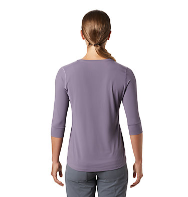 Women's Crater Lake™ 3/4 Crew Crater Lake™ 3/4 Crew | 333 | L, Dusted Sky, back