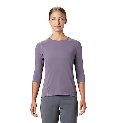 Women's Crater Lake™ 3/4 Crew Crater Lake™ 3/4 Crew | 333 | L, Dusted Sky, front