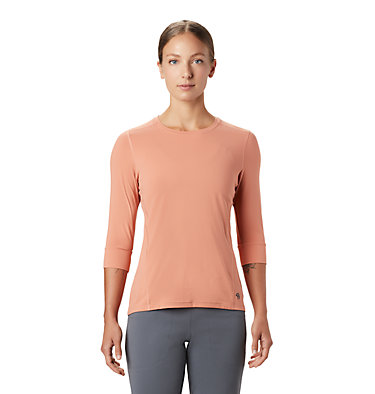 Women's Crater Lake™ 3/4 Crew Crater Lake™ 3/4 Crew | 333 | L, Washed Sun, front