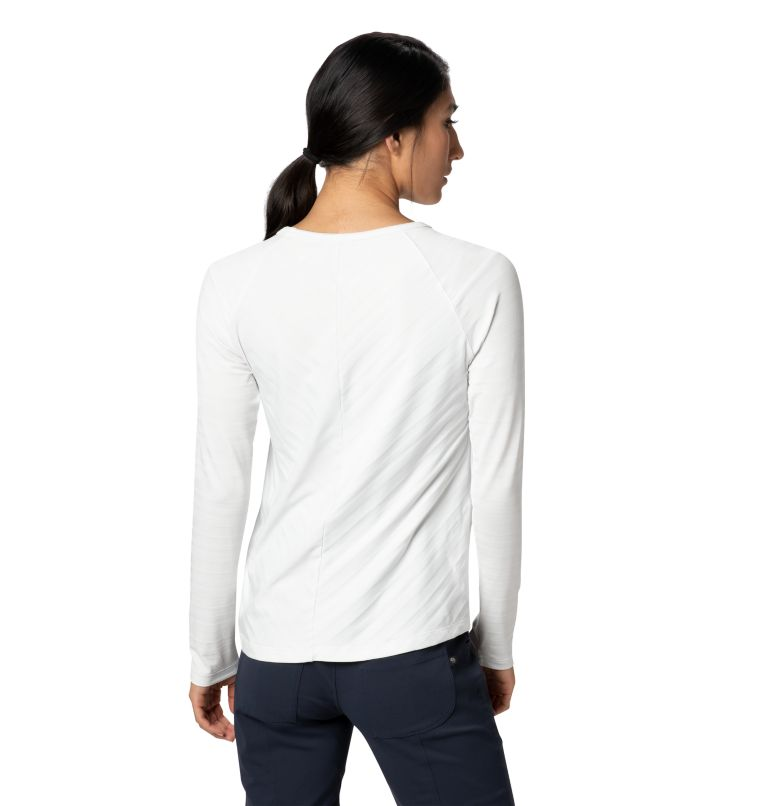Mighty Stripe™ Long Sleeve T | 102 | L Women's Mighty Stripe™ Long Sleeve T-Shirt, Fogbank, back