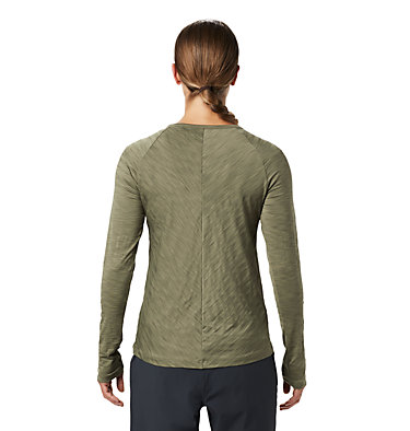 Women's Mighty Stripe™ Long Sleeve T-Shirt Mighty Stripe™ Long Sleeve T | 102 | L, Light Army, back