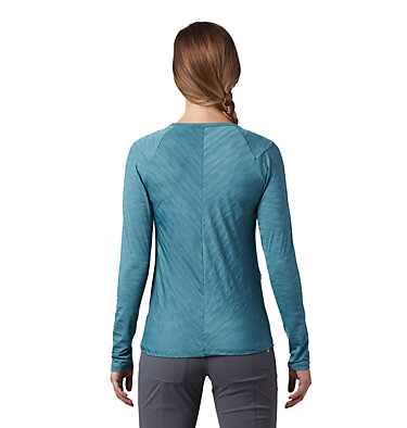 Women's Mighty Stripe™ Long Sleeve T-Shirt Mighty Stripe™ Long Sleeve T | 102 | L, Washed Turq, back