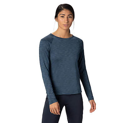 Women's Mighty Stripe™ Long Sleeve T-Shirt Mighty Stripe™ Long Sleeve T | 102 | L, Zinc, front