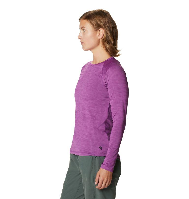 Mighty Stripe™ Long Sleeve T | 547 | M Women's Mighty Stripe™ Long Sleeve T-Shirt, Acai, a1