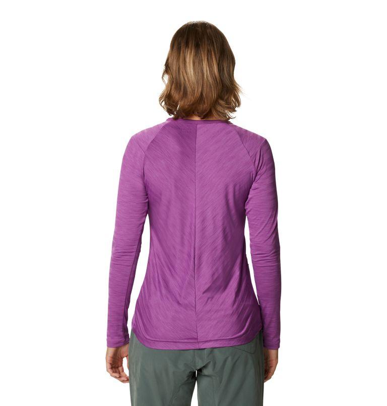 Mighty Stripe™ Long Sleeve T | 547 | M Women's Mighty Stripe™ Long Sleeve T-Shirt, Acai, back