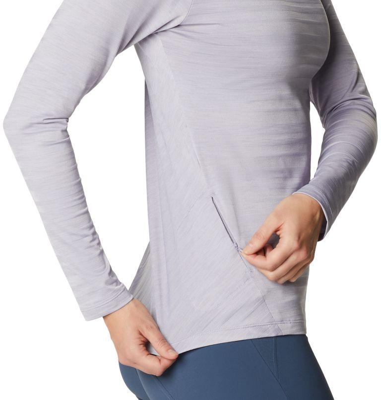 Mighty Stripe™ Long Sleeve T | 558 | M Women's Mighty Stripe™ Long Sleeve T-Shirt, Frost Grey, a2