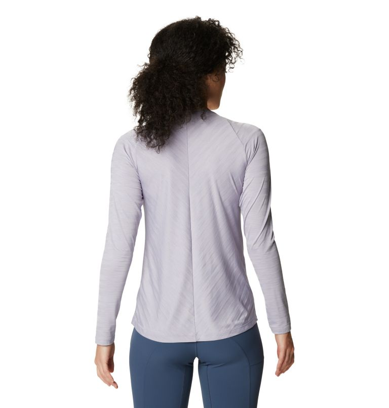 Mighty Stripe™ Long Sleeve T | 558 | XS Women's Mighty Stripe™ Long Sleeve T-Shirt, Frost Grey, back