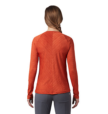 Women's Mighty Stripe™ Long Sleeve T-Shirt Mighty Stripe™ Long Sleeve T | 102 | L, Dark Clay, back