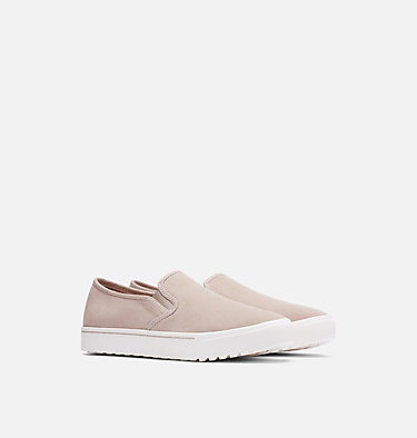 Women's Campsneak™ Slip-On CAMPSNEAK™ SLIP ON | 125 | 6.5, Soft Taupe, 3/4 front