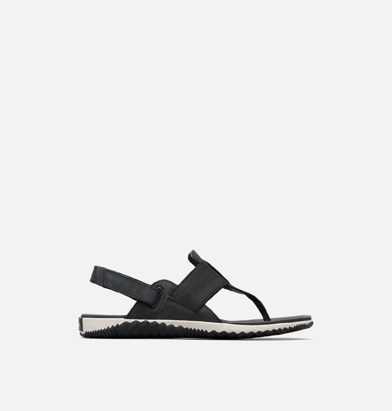 OUT N ABOUT™ PLUS SANDAL | 010 | 9 Sandalia Out 'N About™ Plus para mujer, Black, front