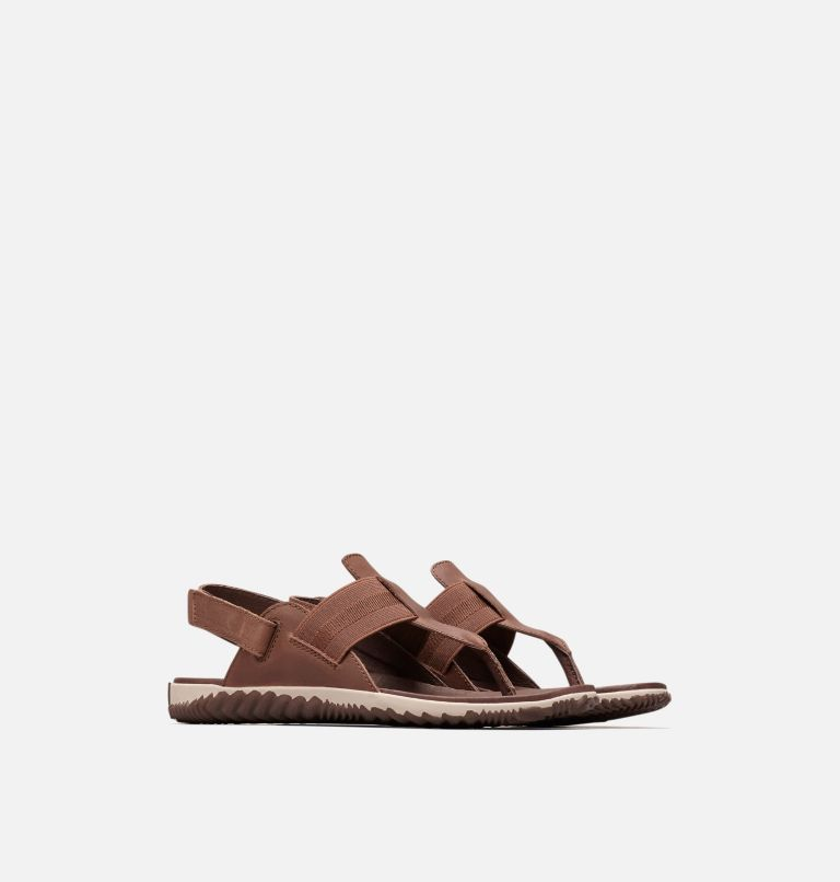 OUT N ABOUT™ PLUS SANDAL | 256 | 8.5 Sandalia Out 'N About™ Plus para mujer, Tobacco, 3/4 front