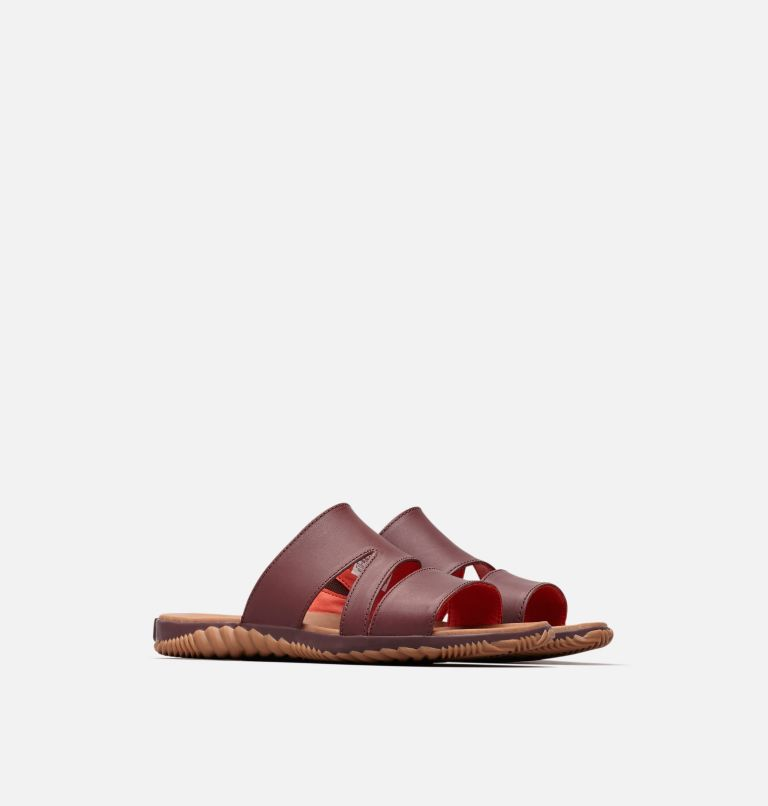 OUT N ABOUT™ PLUS SLIDE | 521 | 6 Women's Out 'N About™ Plus Slide, Elderberry, 3/4 front