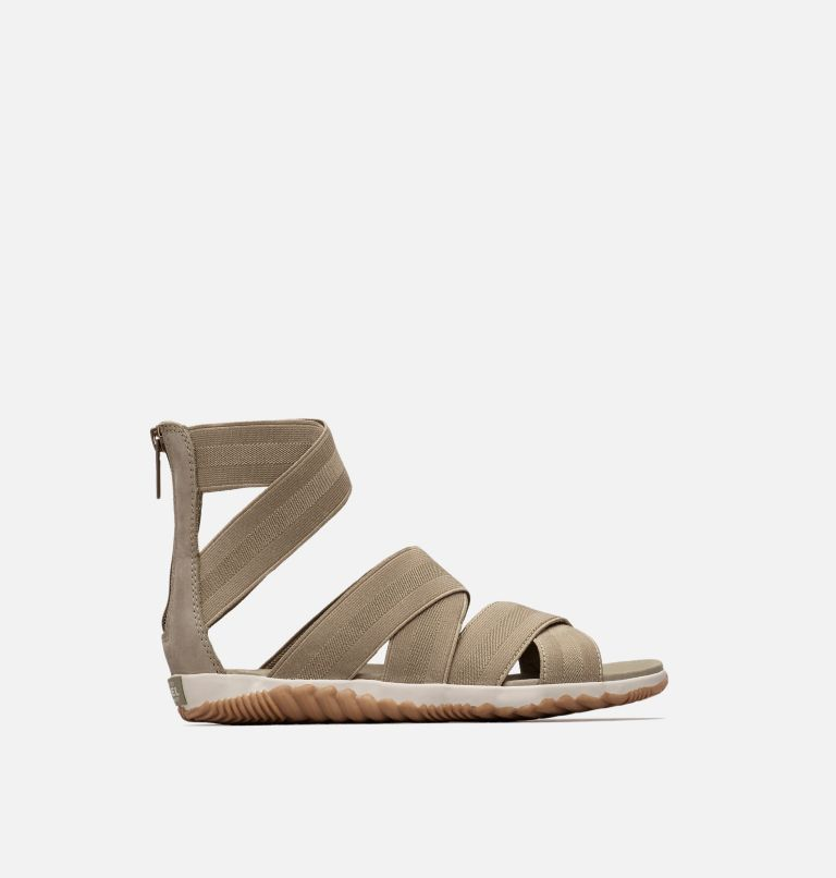 OUT N ABOUT™ PLUS STRAP | 365 | 8 Women's Out 'N About™ Plus Strap Sandal, Sage, front