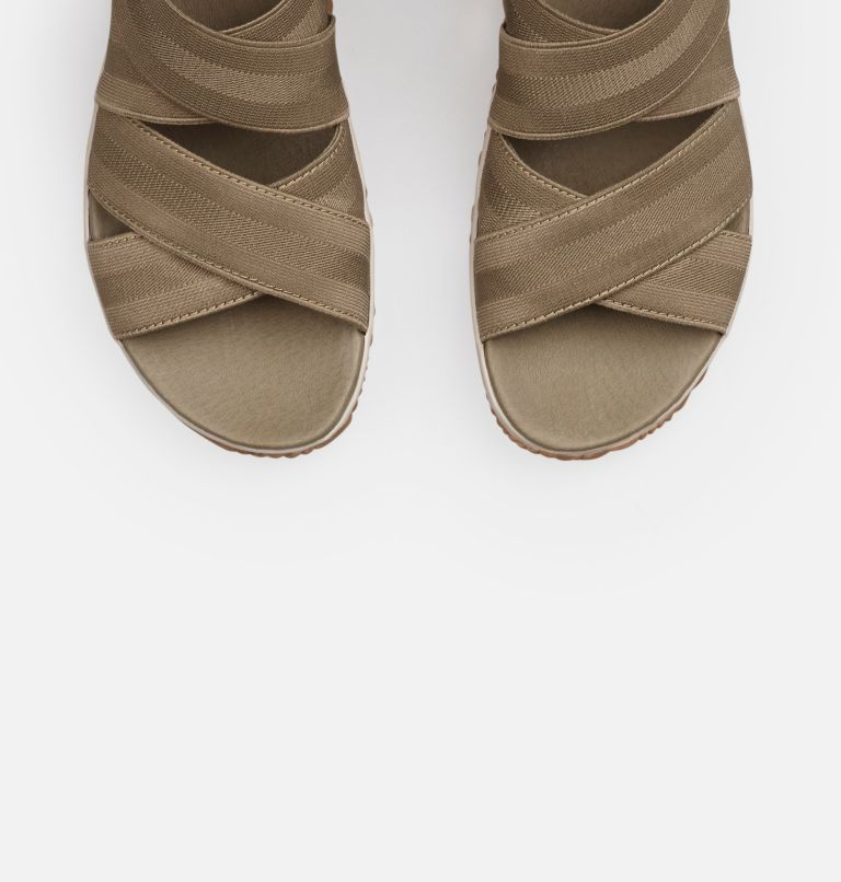 OUT N ABOUT™ PLUS STRAP | 365 | 8 Women's Out 'N About™ Plus Strap Sandal, Sage, top