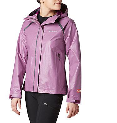 Manteau de pluie OutDry Ex Blitz pour femme OutDry Ex™ Blitz™ Jacket | 594 | L, Wild Iris, front