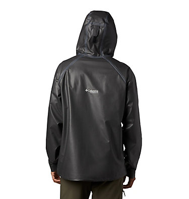 Men's OutDry™ Ex Reign Jacket OutDry Ex™ Reign™ Jacket | 386 | S, Black Heather, back