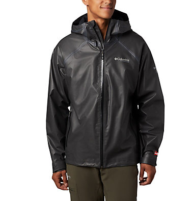 Men's OutDry™ Ex Reign Jacket OutDry Ex™ Reign™ Jacket | 386 | S, Black Heather, front
