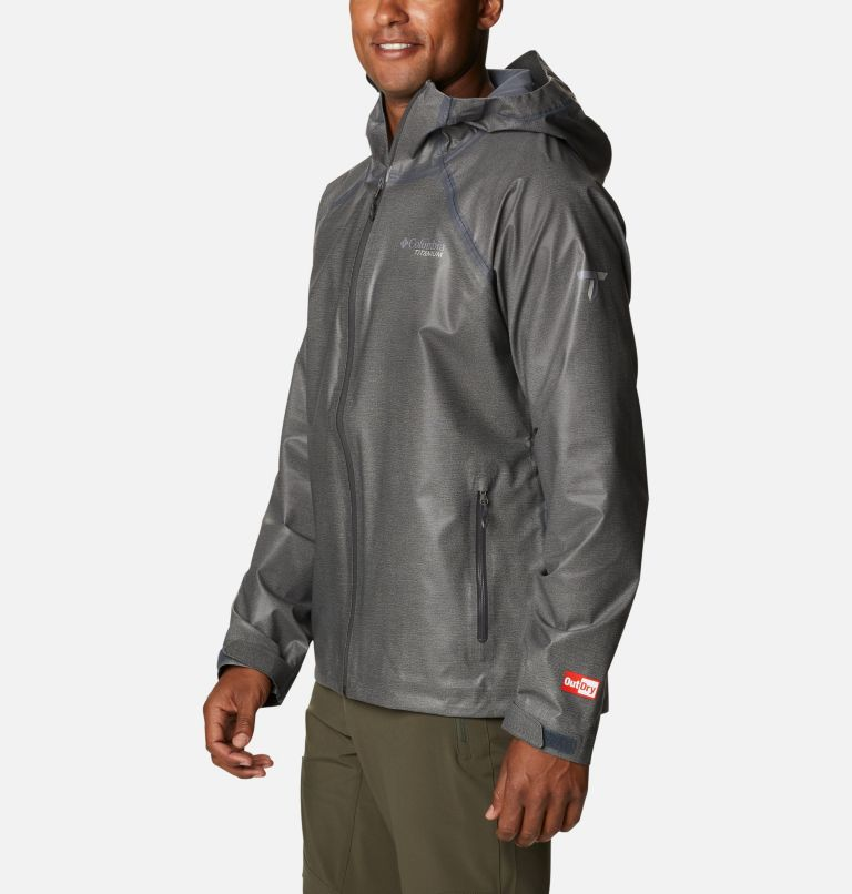 OutDry Ex™ Reign™ Jacket | 030 | S Men's OutDry™ Ex Reign Jacket, Charcoal Heather, a1